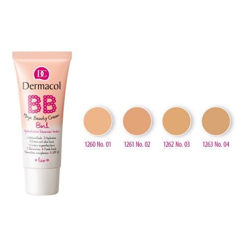 Dermacol BB Magic Beauty Cream