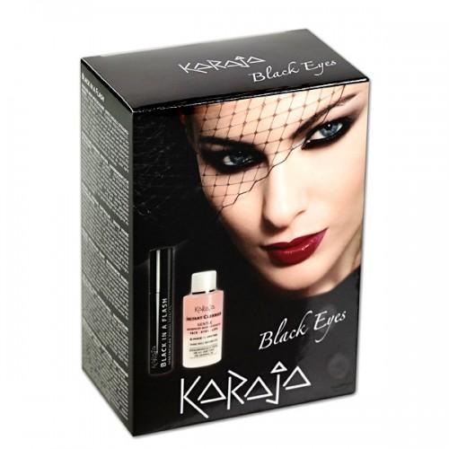 Karaja Black Eyes Kit - Szempillaspirál És Sminklemosó
