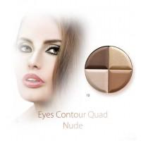 Karaja Contour Quad 10 - Nude Szemformázó Paletta