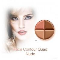 Karaja Contour Quad 20 - Nude Arcformázó Paletta