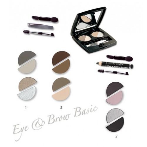 Karaja Eye & Brow Basic - Szemhéj És Szemöldök Árnyaló