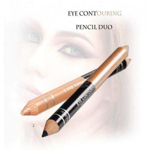 Karaja Eye Contouring Pencil Duo - Kontúr Szemceruza
