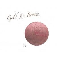Karaja Gold & Bronze 16  - Pirosító Púder