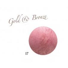 Karaja Gold & Bronze 17  - Pirosító Púder