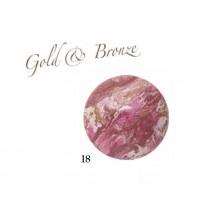 Karaja Gold & Bronze 18 - Pirosító Púder