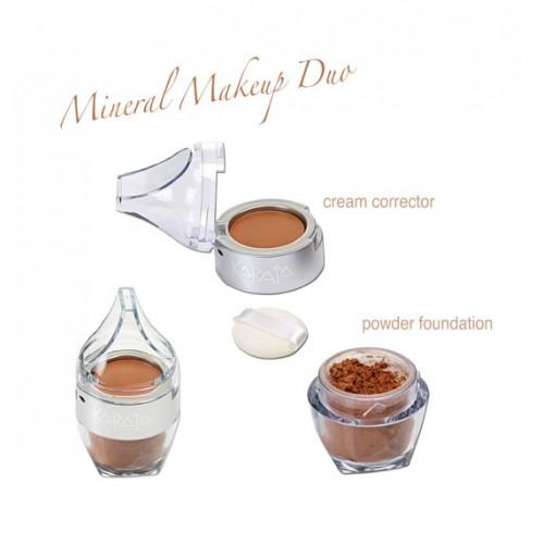 Karaja Mineral Makeup Duo - Ásványi Alapozó, Korrektor És Púder