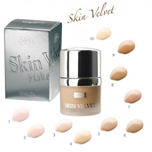 Karaja Skin Velvet Makeup - Tartós Bőrfeszesítő Alapozó