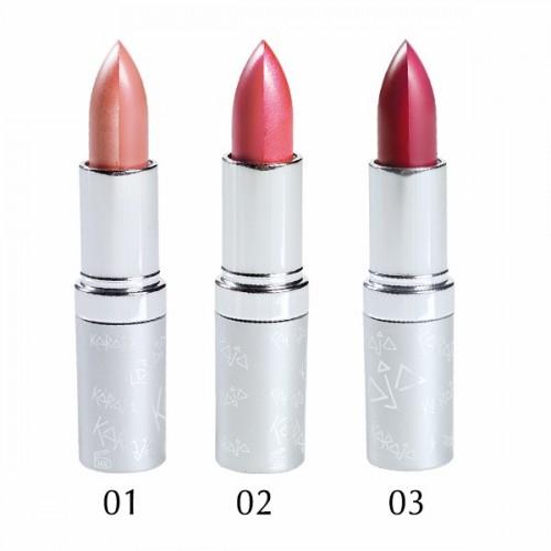 Karaja Twin Shine Lipstick - Kétszínű fényes rúzs